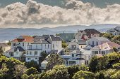 picture of sea-scape  - A city scape of Wellington New Zealand - JPG