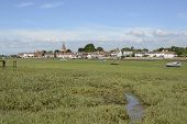 picture of west village  - Village of Bosham in Chichester Harbour - JPG