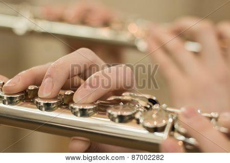 Fingers On Flute
