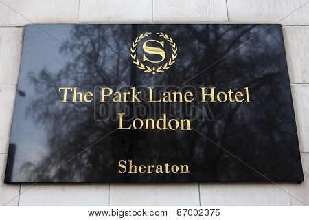 The Park Lane Hotel In London