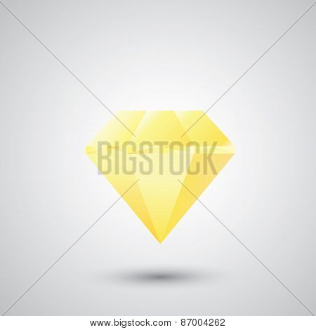 vector diamond.