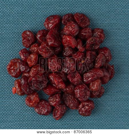 Circle Of Dried Cranberries