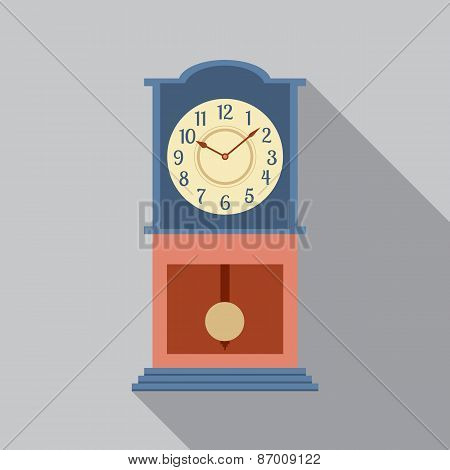 Grandfather Pendulum Clock.