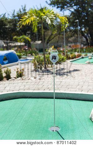 Tropical Mini Golf Course