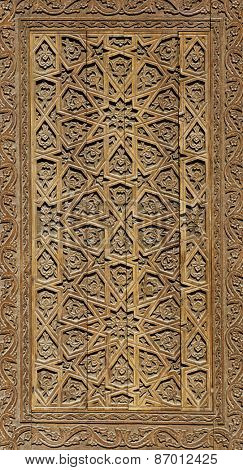 Traditional east pattern (decoration) on wood products