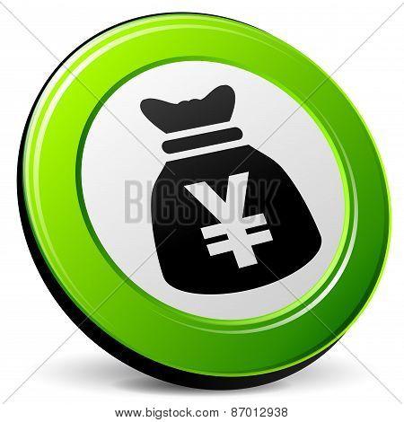 Yen 3D Icon