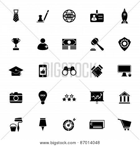 Sme Icons On White Background
