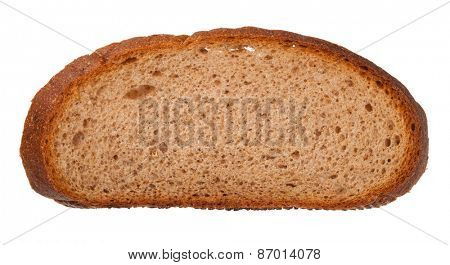 Rye bread slice
