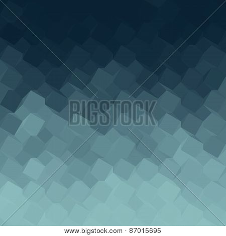 Blue Gradient Geometric Light Effect