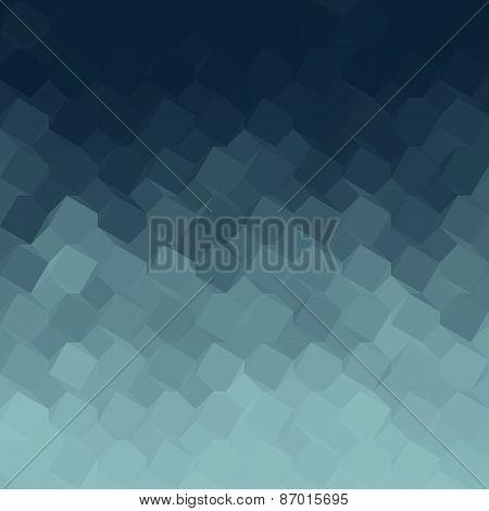 Blue Gradient Geometric Light Effect