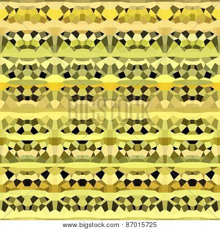 Abstract Geometric Pattern In Yellow Orange