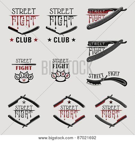 Street Fight Straight Razor