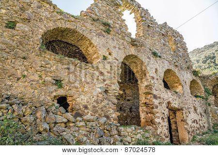 The Convent Of San Francescu Near Castifao In Corsica