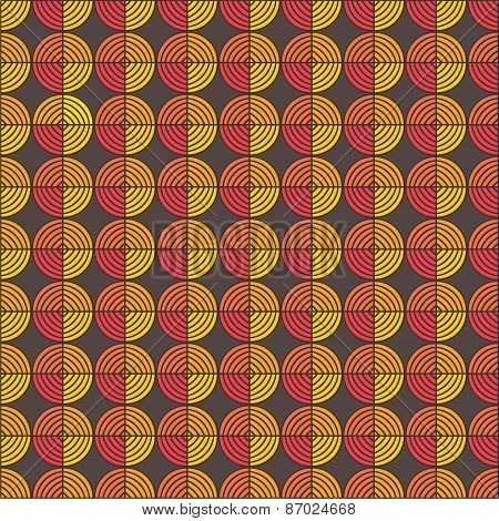 creative round shape classy pattern