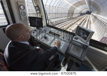 Subway Train Operator Driver