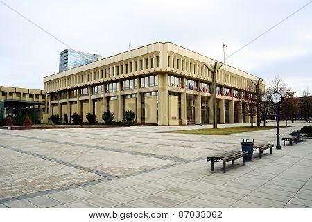 Lithuanian Parliament (seimas) In Vilnius On March 13