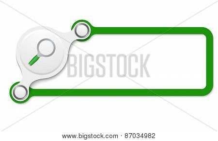 Vector Green Box