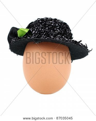 Egg With  Hat