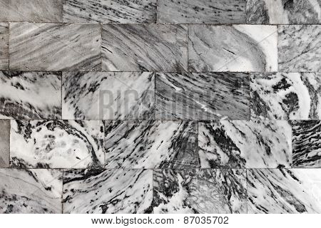 Dark Marble Granite Stone Slab Surface. Great Background Or Texture.