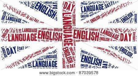 English Language Day. Celebrated On 23Rd April.