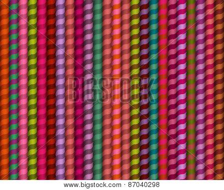 Vector seamless pattern. Geometric stylish background.