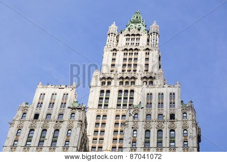 Woolworth Building In New York