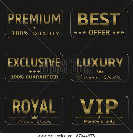 Luxury labels