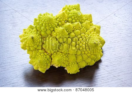 group of Roman cauliflower typical of southern Italy