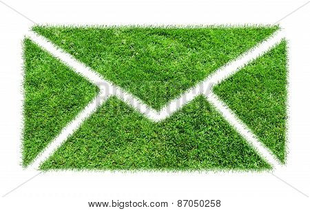 Symbol Grass Email