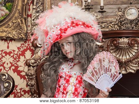 Young Lady with a Fan