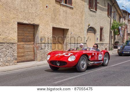 Maserati 150 S (1955) In Mille Miglia 2014