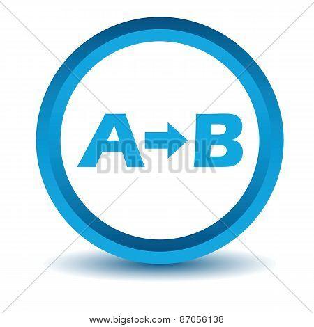 Blue Purpose icon