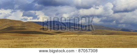 View of Caucasus mountains, Armenia