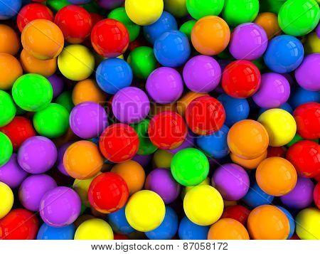 Balls Background