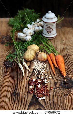 Ingredients Vegetable