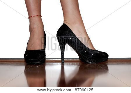 Female Legs In Shoes