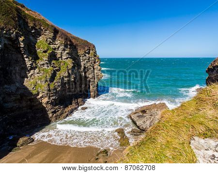 Bossiney Cove Tintagel Cornwall
