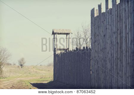 Old Wooden Fort