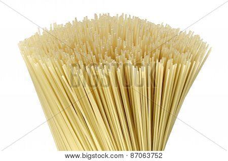 Uncooked Pasta Spaghetti Macaron