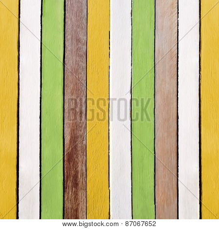 Creative Retro Wooden Paint Texture Background