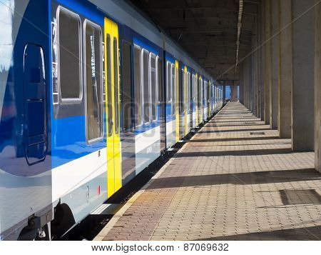 Train At The Staion