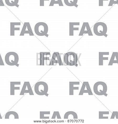 New Faq seamless pattern