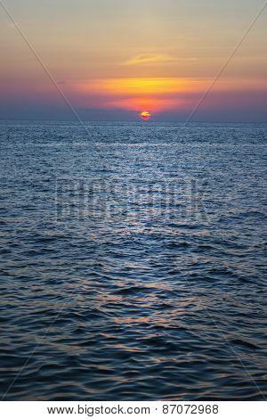 Sunset, Andaman Sea