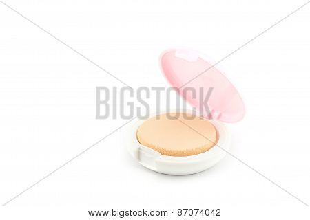 Makeup. Face Powder