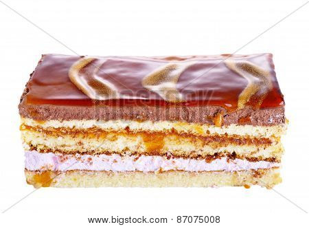 Piece Of Cake With Different Layers