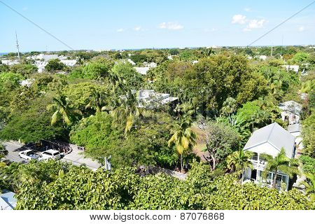 Ernest Hemingway's House from Above