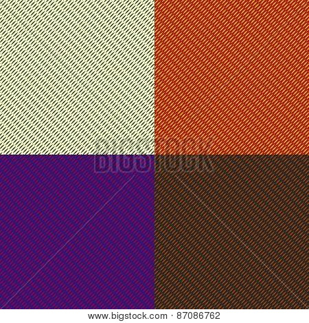 Set Of Seamless Color Texture Patterns
