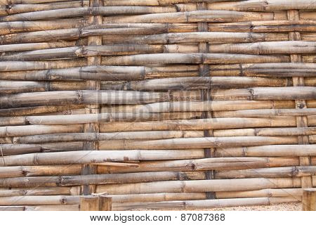 woven bamboo surface, natural background