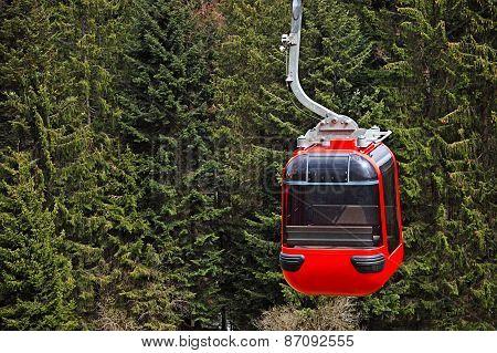 Lift Mountains In Switzerland
