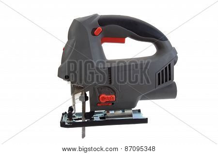 Gray And Black Electrical Jig Saw